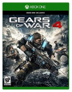 $59.99 + $10 Gift Card Gears of War 4 for Xbox One Pre-order