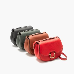 Mini Rider Bag In Italian Leather