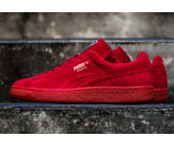 PUMA Suede Classic - Men's - Basketball - Shoes - High Risk Red/Team Gold