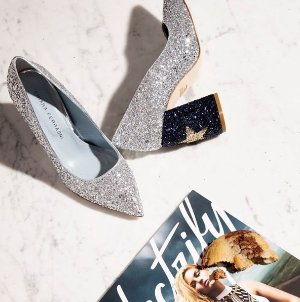 CHIARA FERRAGNI 'Star' Pointy Toe Pump