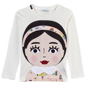 Dolce & Gabbana Girl Applique Tee | AlexandAlexa