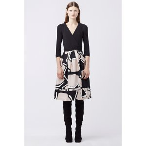 DVF New Jewel Wrap Dress | Landing Pages by DVF