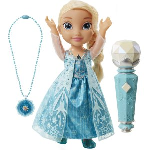 Disney's Frozen Sing Along Elsa with Bonus Necklace
