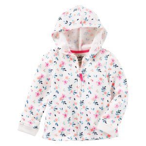 Toddler Girl Floral French Terry Hoodie | OshKosh.com