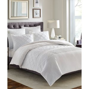 Stone Cottage White Mosaic Duvet Cover Set | zulily