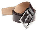 Salvatore Ferragamo New Real Adjustable Leather Belt