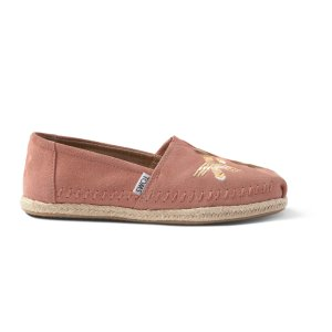 Canyon Clay Tribal Embroidered Women's Espadrilles | TOMS