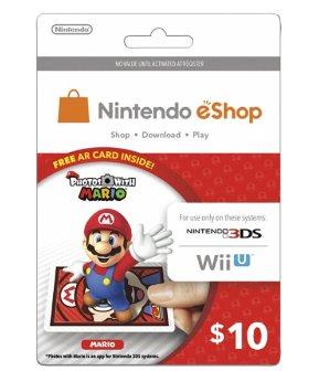 $8.50 for $10 Nintendo eShop Prepaid Card