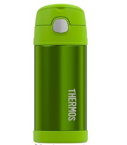 Thermos Funtainer Bottle, 12 oz, Lime