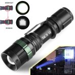 $3.63 Ultrafire 5000LM Zoomable CREE XM-L T6 LED Flashlight Torch Super Bright Light