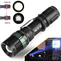 Ultrafire 5000LM Zoomable CREE XM-L T6 LED Flashlight Torch Super Bright Light