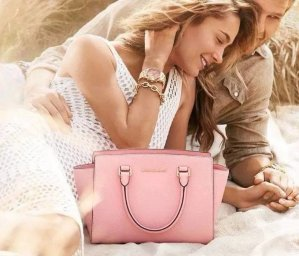 Up to 44% Off+Up to $40 Macy's Money Select MICHAEL Michael Kors Handbags @ macys