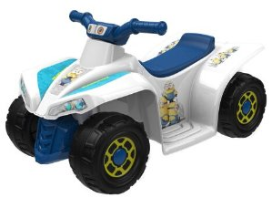 $39 Minions 6-Volt Little Quad Electric Battery-Powered Ride-On