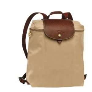 Longchamp Le Pliage Zippered Backpack