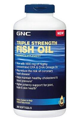 $49.99GNC Triple Strength Fish Oil 360 softgels