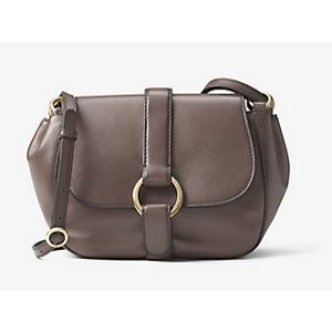 MICHAEL MICHAEL KORS Quincy Medium Leather Saddlebag