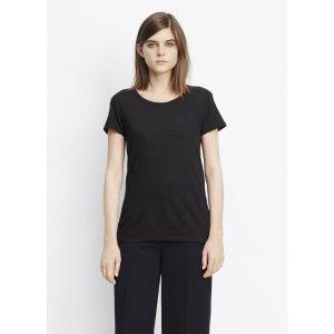Short Sleeve Slub Tee for Women | Vince