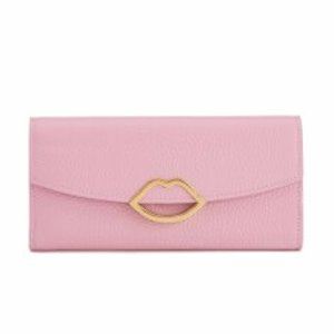 Lulu Guinness Women's Trisha Grainy Leather Purse - Rose Pink