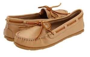 Minnetonka Leather Moc Women's Shoe