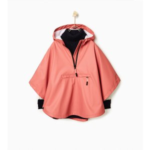 Rubberised hooded cape - Outerwear-STARTING FROM 50% OFF-GIRL | 4-14 years-KIDS-SALE | ZARA United States