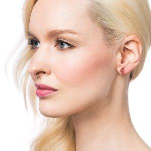 Lulu Frost | CODE NUMBER EARRING - 14K ROSE GOLD