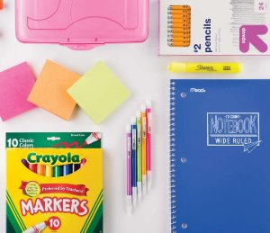 From $.99 School Supplies @ Target