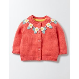 Pretty Flower Crochet Cardigan 71561 Knitted Cardigans at Boden