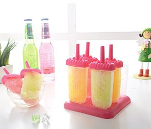$2.99 Ozera Ice Popsicle Molds, Set of 6