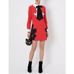 Red Bugola Mini Dress | Vivetta | Avenue32
