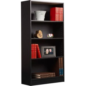 $20.55 Orion 4-Shelf Bookcase Black