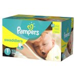 $44.98 + $15 GC Two Super Packs of Pampers Diapers Today Only!