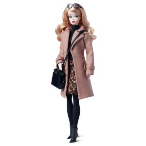 Classic Camel Coat Barbie® Doll | DGW54 | Barbie