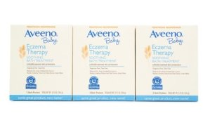 Aveeno Baby ECZEMA THERAPY, 3 x 5 Count
