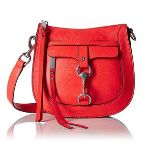 $78.26 Rebecca Minkoff Dog Clip Saddle Bag Cross-Body