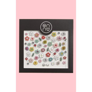 ONNU Spring Flower Nail Stickers