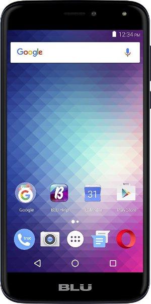 Life Max 4G with 16GB Memory Cell Phone (Unlocked Dual SIM card) Dark Blue