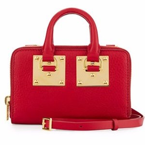Sophie Hulme Albion Medium Double-Zip Crossbody Wallet