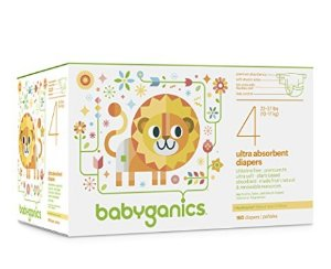 30% Off + Extra 20% Off Babyganics Ultra Absorbent Diapers Economy Pack