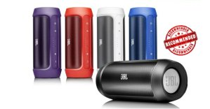 JBL Charge 2 Portable Wireless Bluetooth Speaker,RECERTIFIED