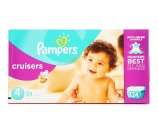 Pampers Cruisers 124 Diapers Size 4