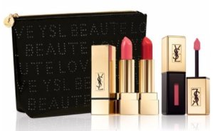 New Arrival! $74(A $110 Value) with Yves Saint Laurent Rouge Pur Couture & Glossy Stain Set @ Saks Fifth Avenue