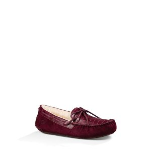 UGG® Official | Women's Dakota Croco Wool Slippers | UGG.com
