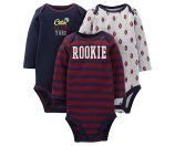 Just One You™ Made By Carter's® Newborn Boys' 3-Pack Rookie Bodysuit - Purple : Target