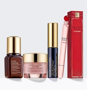 up to 12 deluxe samplesWith Any $50 Purchase @ Estee Lauder