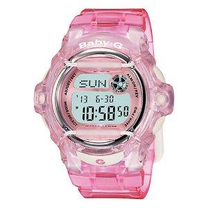 Baby-G 粉色电子表