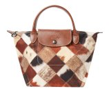 Le Pliage Patch Pony Medium Short Handle Tote by Longchamp at Gilt
