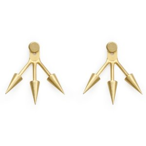 Follow Your Spirit Spiked Ear Jacket, Gold-Dipped | Dogeared