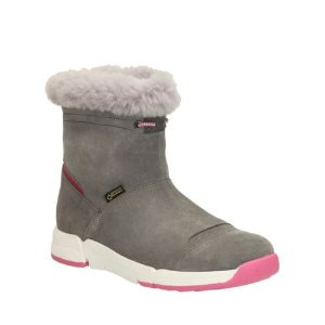 Tri Go GTX Toddler Grey Suede - Toddler Girl Shoes - Clarks® Shoes Official Site