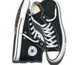 Adults' Converse Chuck Taylor All Star Canvas Hi Black | Shoe Carnival