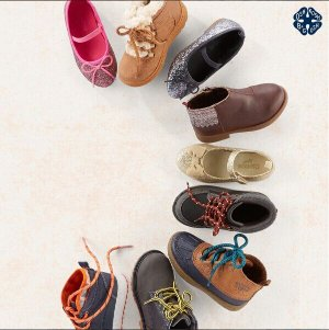 Ends Tonight  +  BOGO Free Kids Shoes & Boots Doorbuster & Up to 60% Off Fall Together Kids Apparel Sale @ OshKosh BGosh